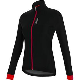 Santini Stella Windproof Jacke Damen black/red
